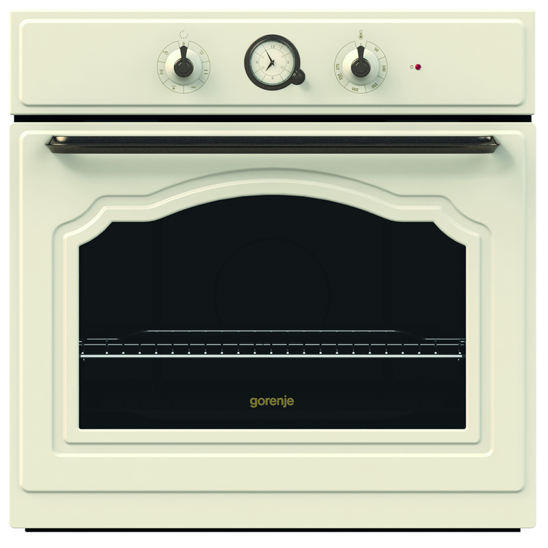 600mm Built-in Electric Single Oven Class A Timer Ivory