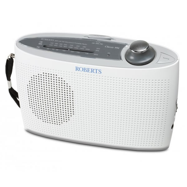 3-Band LW/MW/FM Portable Analogue Radio White
