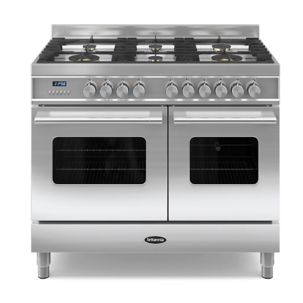 Compare retail prices of 1000mm Twin Dual Fuel Range Cooker Gas Hob S/St to get the best deal online