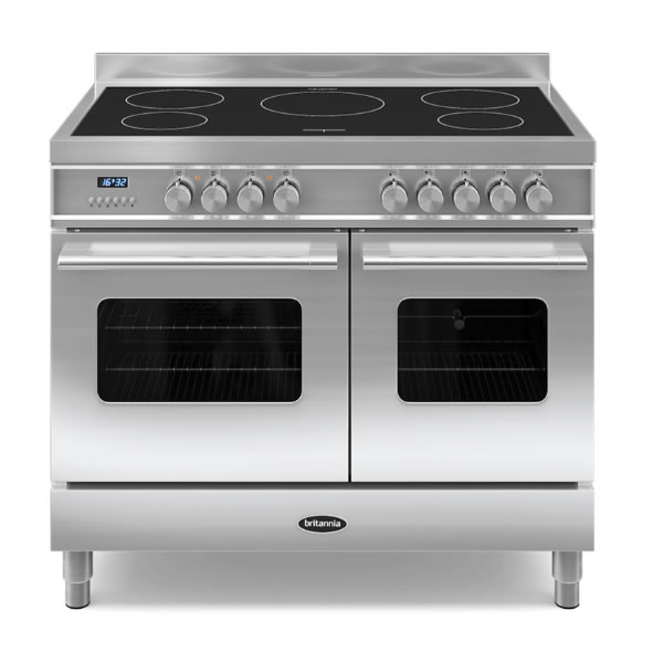 Compare retail prices of 1000mm Twin Electric Range Cooker Induction Hob S/St to get the best deal online