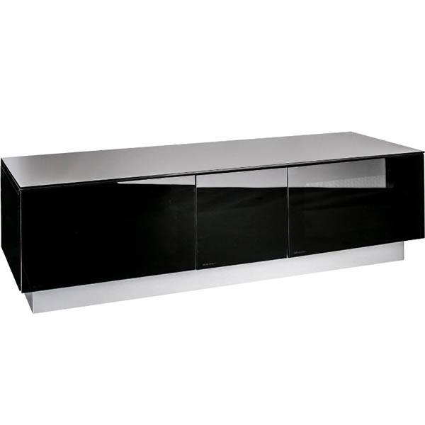 1250mm TV Cabinet Upto 60inch TV Black