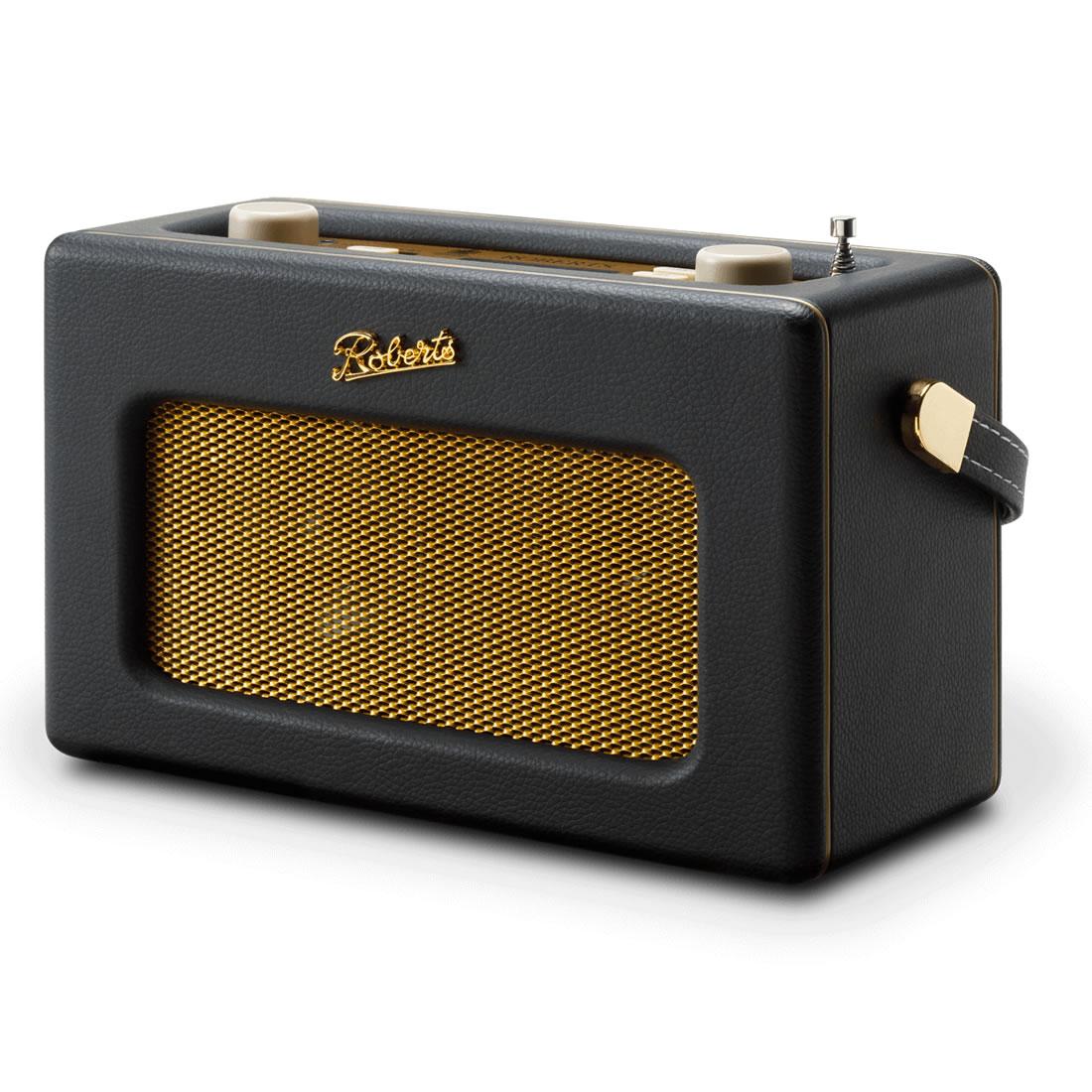 DAB/DAB+/FM RDS & WiFi Internet Radio Black