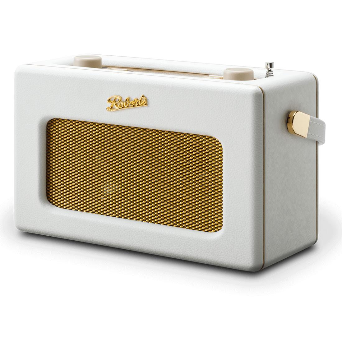 DAB/DAB+/FM RDS & WiFi Internet Radio White
