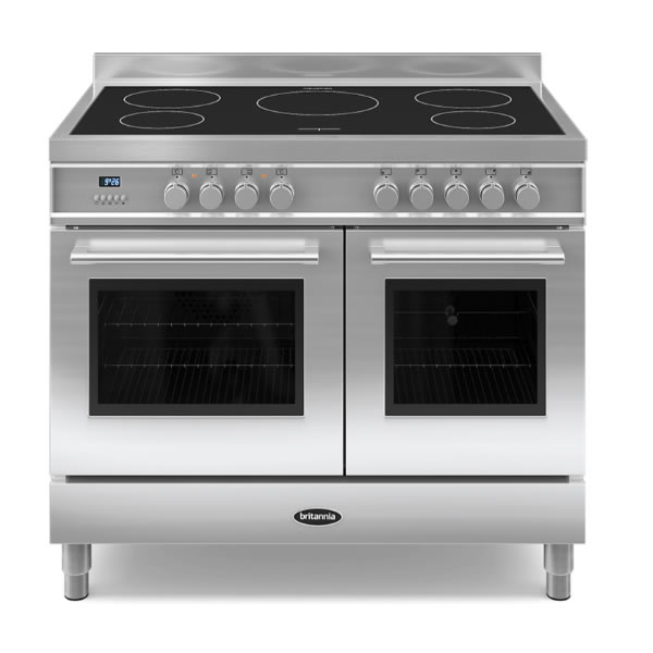 Compare retail prices of 1000mm Twin Electric Range Cooker Induction Hob S/S to get the best deal online