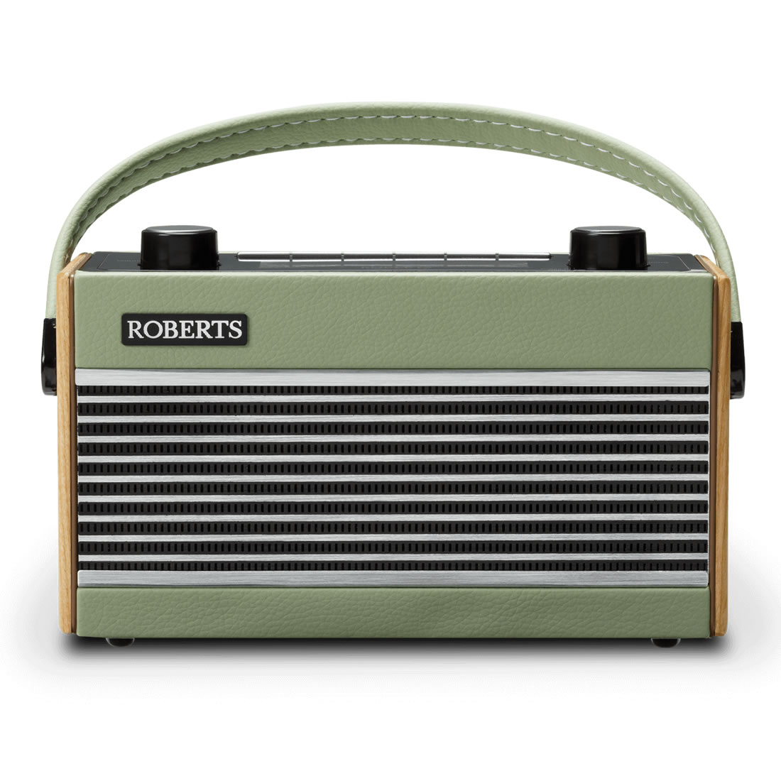Image of 1970s Retro Radio DAB/DAB+/FM 20-Station Preset Green