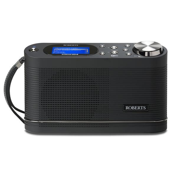 DAB/DAB+/FM/Wi-Fi Internet Radio Wake-Up Alarm Black