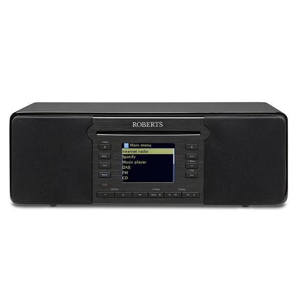 DAB/DAB+ FM and Internet Radio Bluetooth Black