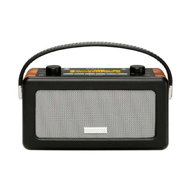 Image of DAB Radio Rechargeable USB Connection Black