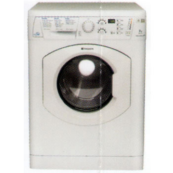 Image of 1400rpm AQUARIUS+ Washer Dryer 7kg/5kg Load Polar White