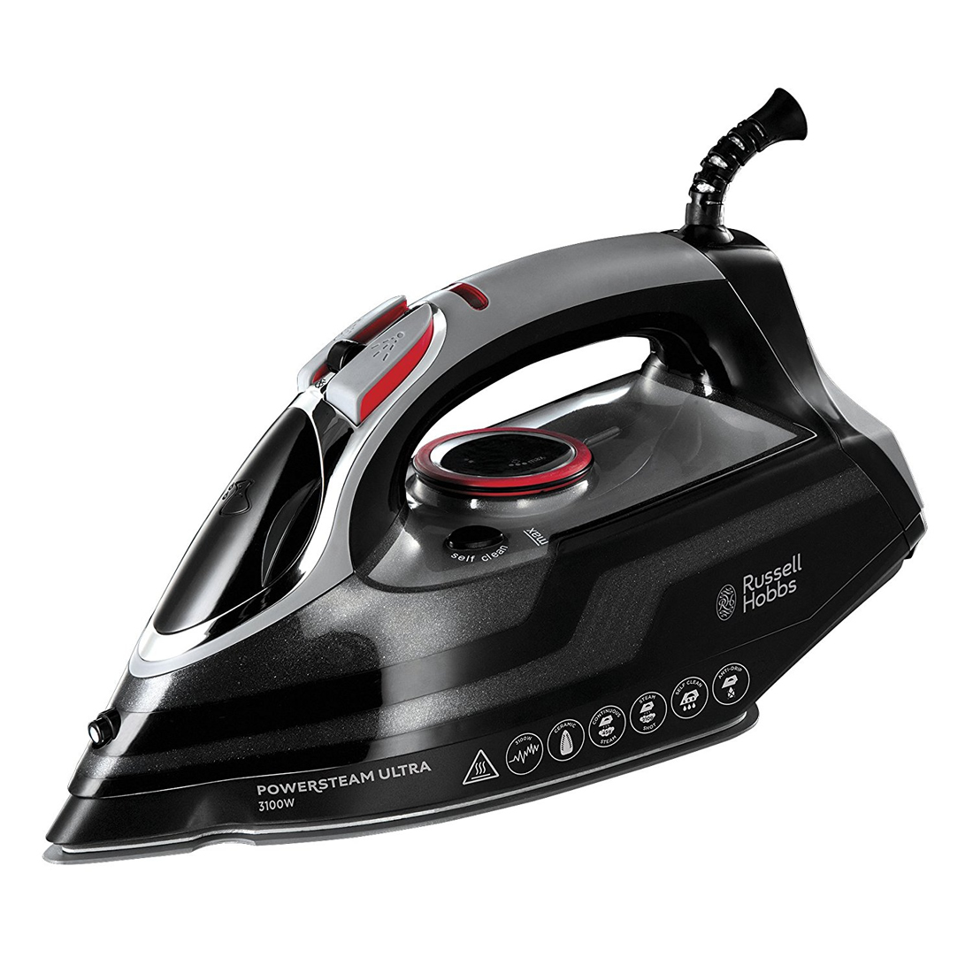 Image of 3100Watts Steam Iron Self Cleaning