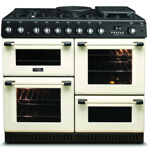 Image of 1000mm Gas Range Cooker FSD Gas Hob Cream