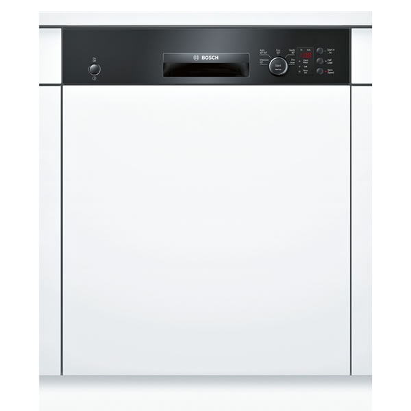 Image of 12-Place Built-in Dishwasher 5 Progs Class A+ Black
