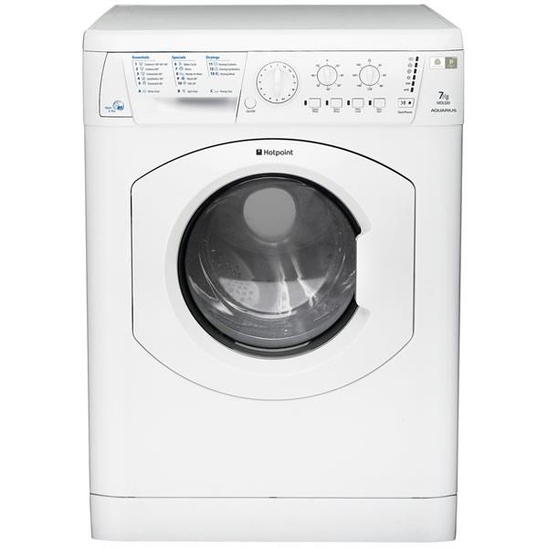 Image of 1200rpm AQUARIUS Washer Dryer 7kg/5kg Load Polar White