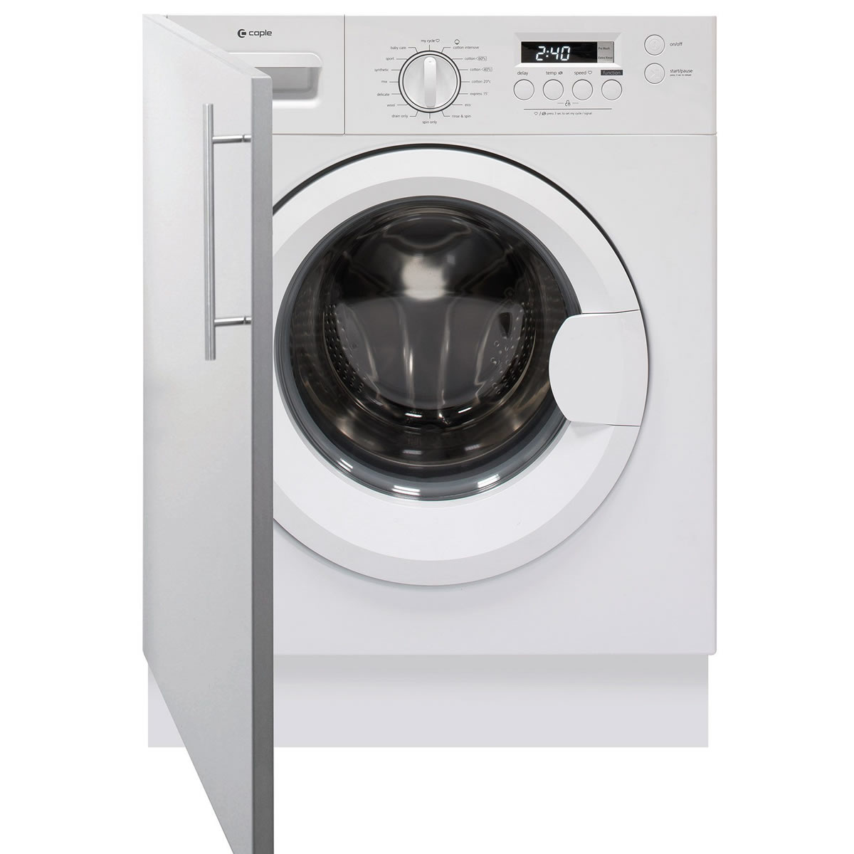 Image of 1200rpm Integrated Washing Machine 6kg Load Class A++