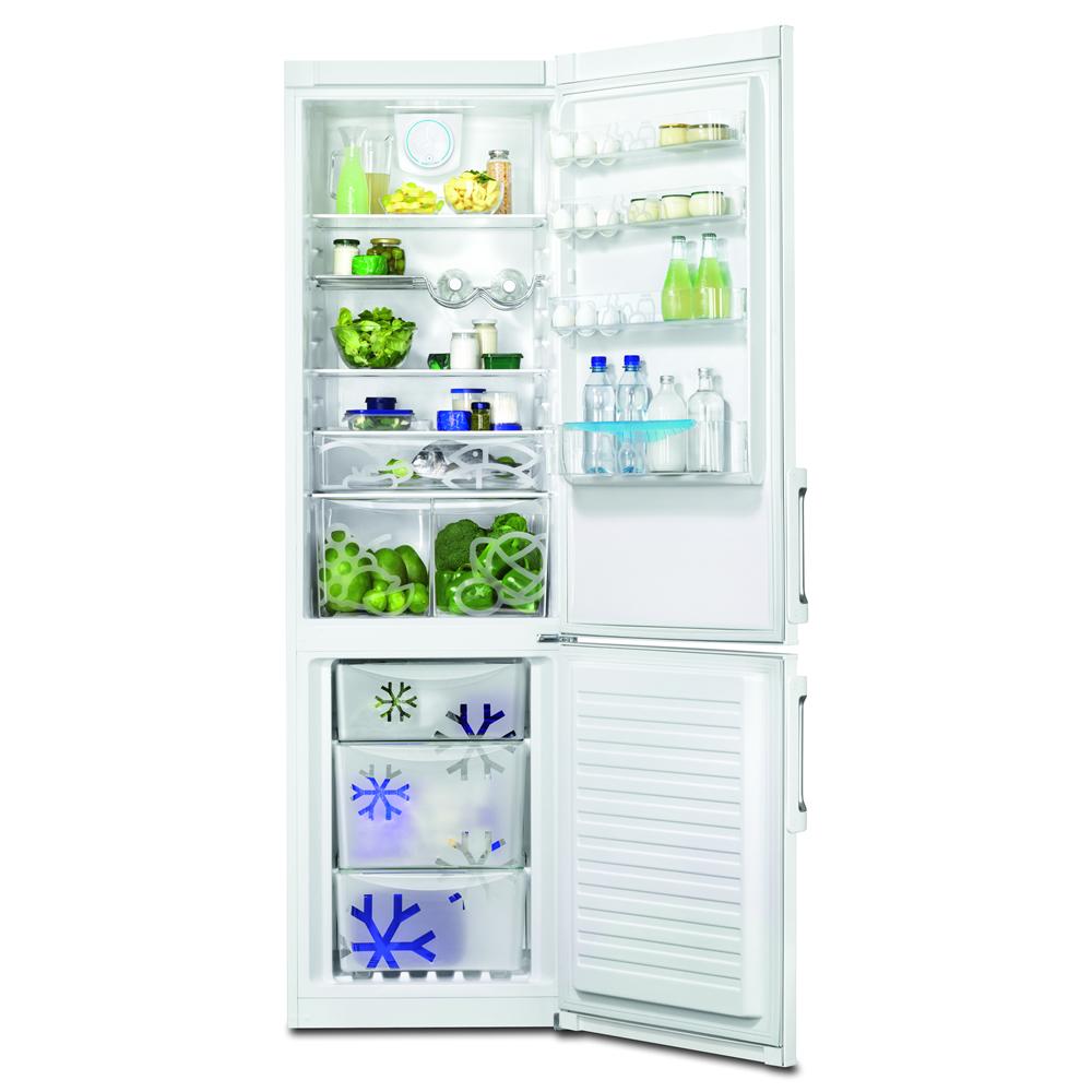 Zanussi 376litre Fridge Freezer Frost Free Class A++ White - ZRB38426WV
