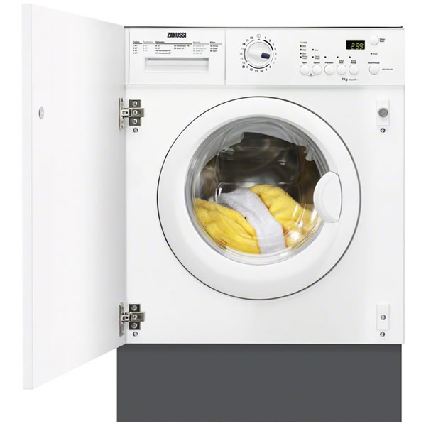 Image of 1200rpm Integrated Washing Machine 7kg Load Class A++